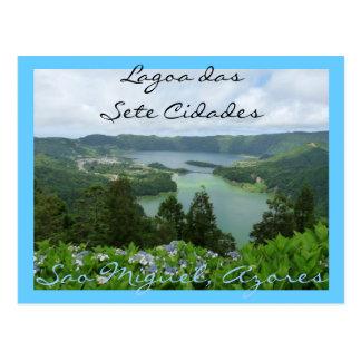 Carte Postale Lagoa DAS Sete Cidades