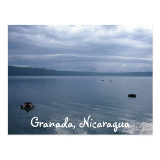 Carte Postale Laguna vitreux de Appoyo, Grenade, Nicaragua