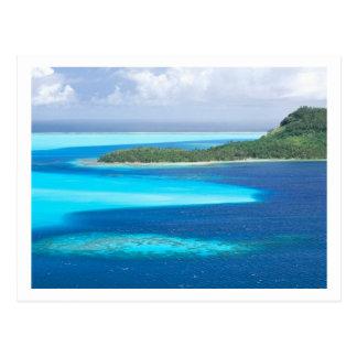 Carte Postale Lagune de Bora Bora, Polynésie française