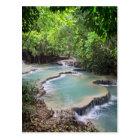 Carte Postale Lagune de rivière de forêt, automnes de Khoung SI,