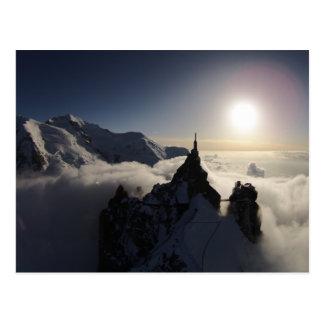 Carte Postale L'Aiguille du Midi et Mont Blanc