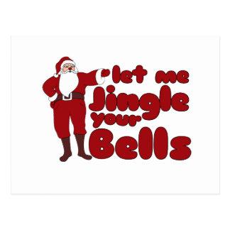 Carte Postale Laissez-moi tinter vos Bells