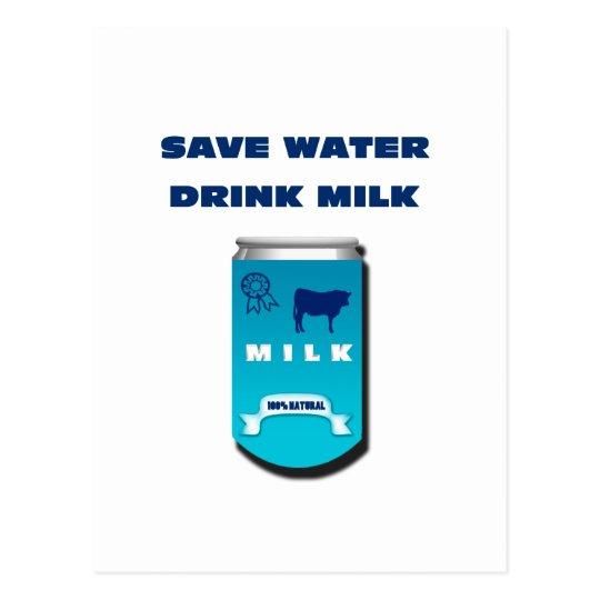 Carte Postale lait