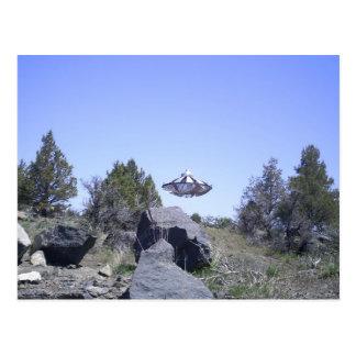 Carte Postale Laiterie, UFO de l'Orégon