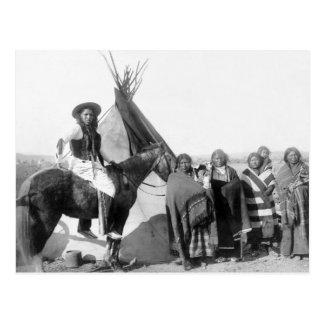 Carte Postale Lakota Sioux : 1891