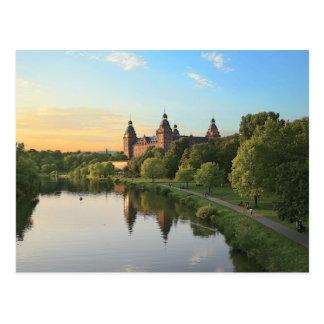Carte Postale L'Allemagne, Aschaffenburg, Schloss (château)