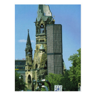Carte Postale L'Allemagne, Berlin, Kurustendamm, Wilhelm Kirche