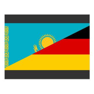 Carte Postale L'Allemagne et le Kazakhstan, Kazakstan