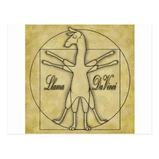 Carte Postale Lama da Vinci