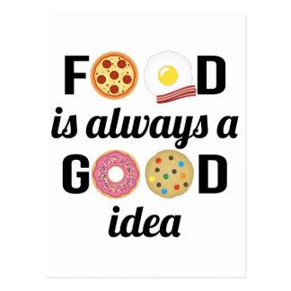 Carte Postale L'amant de nourriture
