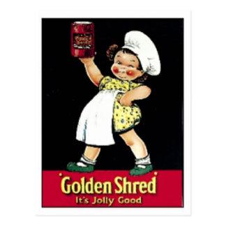 Carte Postale Lambeau d'or vintage - il est très bon