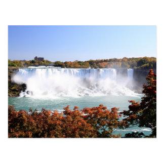 Carte Postale L'Américain tombe aux chutes du Niagara