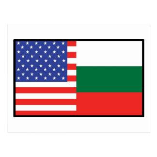 Carte Postale L'Amérique Bulgarie