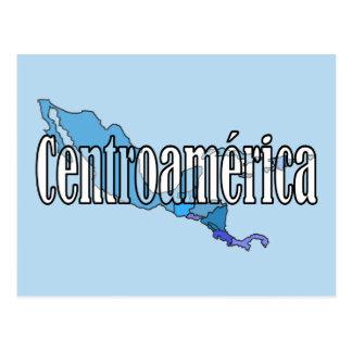 Carte Postale L'Amérique Centrale