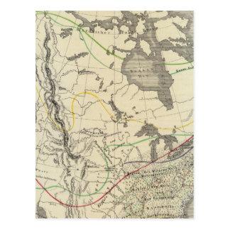 Carte Postale L'Amérique du Nord 11