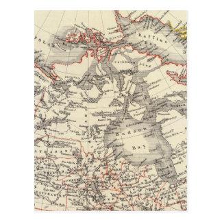 Carte Postale L'Amérique du Nord 13