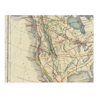 Carte Postale L'Amérique du Nord 24