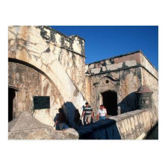 Carte Postale L'Amérique du Nord, Mexique, Veracruz. San Juan