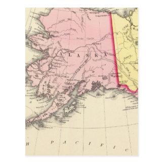 Carte Postale L'Amérique du nord-ouest