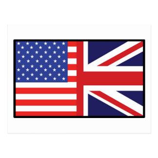 Carte Postale L'Amérique Grande-Bretagne