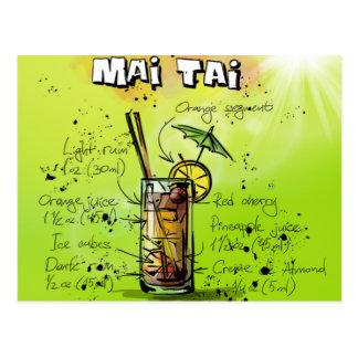 Carte Postale L'AMI Tai - Cadeau de cocktail