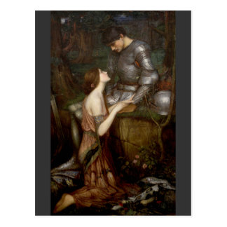 Carte Postale Lamia par John William Waterhouse