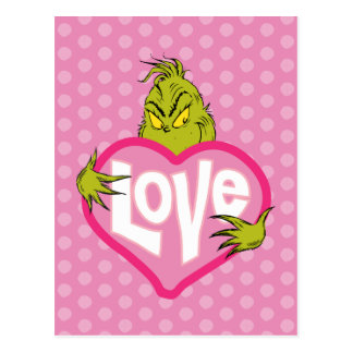 Carte Postale L'amour de Grinch |