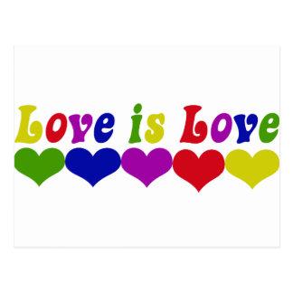 Carte Postale L'amour est amour