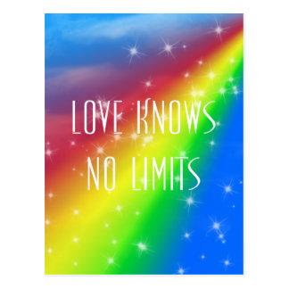 Carte Postale L'amour ne sait aucune limite