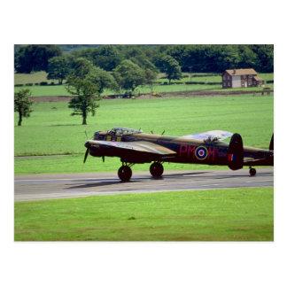 Carte Postale Lancaster, salon de l'aéronautique 1990,