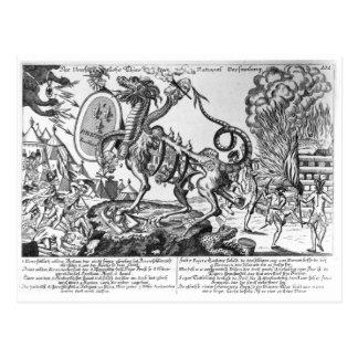 Carte Postale L'animal insatiable de l'Assemblée nationale