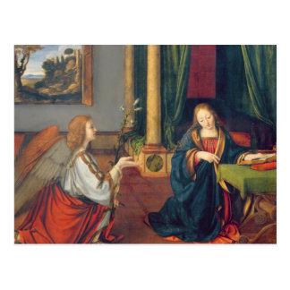 Carte Postale L'annonce, 1506