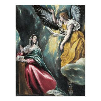 Carte Postale L'annonce par El Greco