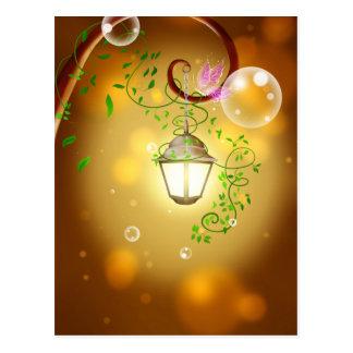Carte Postale Lanterne féerique