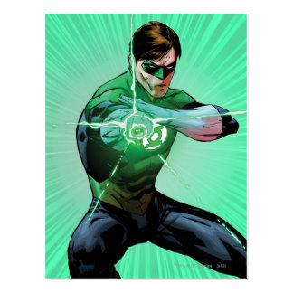 Carte Postale Lanterne verte et anneau rougeoyant