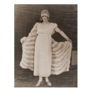 Carte Postale L'antiquité vintage photographie des portraits des