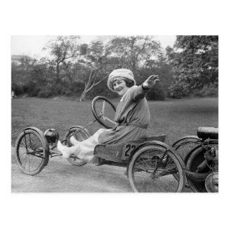 Carte Postale L'antiquité vont chariot, les années 1900 tôt