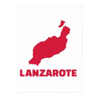 Carte Postale Lanzarote