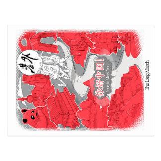 Carte Postale Laowai - The Long March