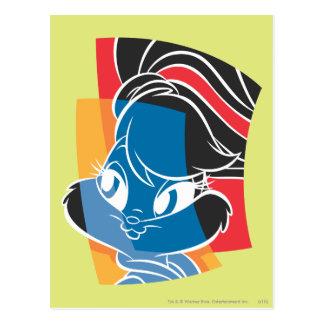 Carte Postale Lapin 4 expressifs de Lola