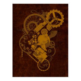 Carte Postale Lapin de Steampunk