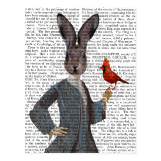 Carte Postale Lapin et oiseau 2