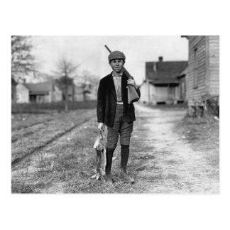Carte Postale Lapin Hunting, 1908