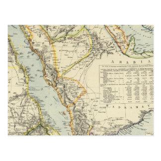 Carte Postale L'Arabie, Egypte, Nubia, Abyssinia 2