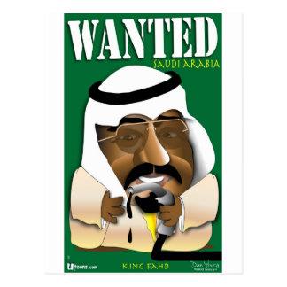Carte Postale L'Arabie Saoudite