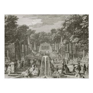 Carte Postale L'Arc de Triomphe, Versailles (gravure)