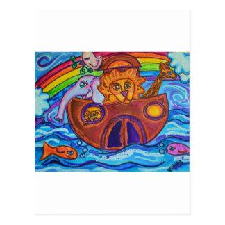 Carte Postale L'arche de Noé