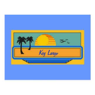 Carte Postale Largo principal la Floride