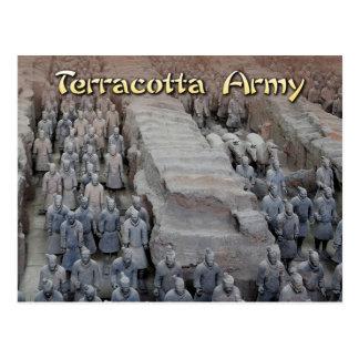 Carte Postale L'armée de terre cuite du premier empereur de la