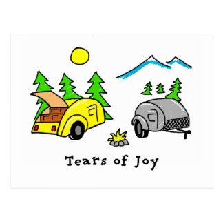 Carte Postale Larmes de joie